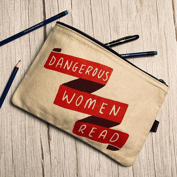 Dangerous Women Read Pencil Case