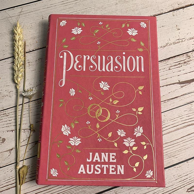 Barnes & Noble Leatherbound Classics - Jane Austen's Persuasion - JaneAusten.co.uk