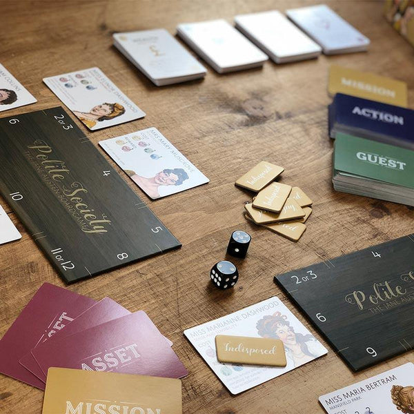 Polite Society: Das Jane Austen Brettspiel - JaneAusten.co.uk