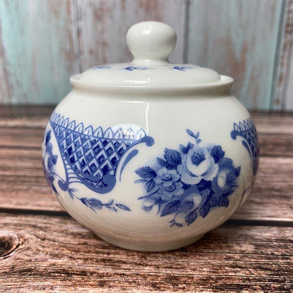 Exclusive Bone China Regency Sugar Bowl - Jane Austen Netherfield Collection
