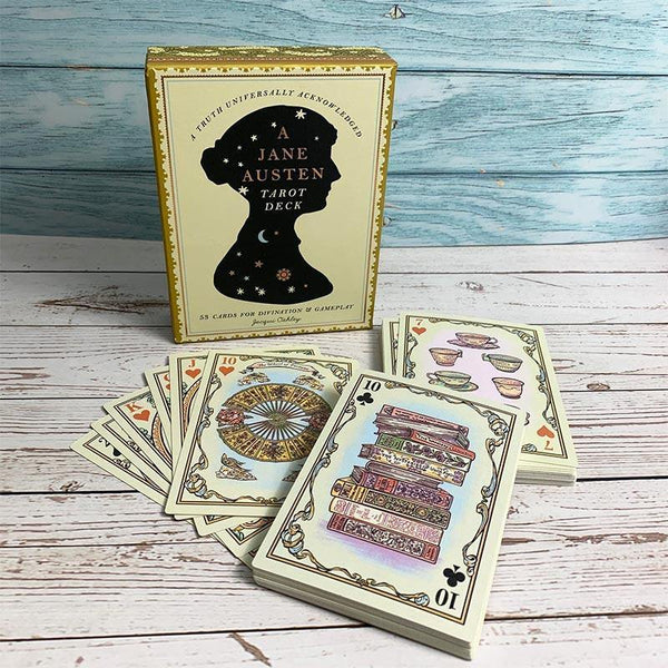 "Джейн Austen Playing Card И Колода ""tarot""-JaneAusten.co.uk"