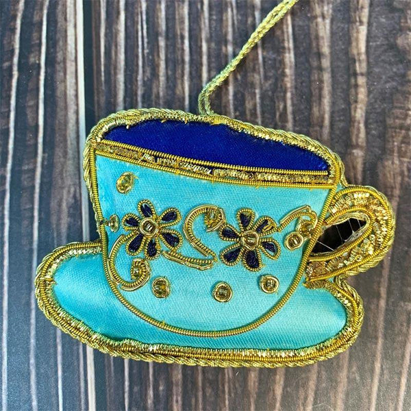 Regency Teetasse und Untertasse Dekoration - JaneAusten.co.uk
