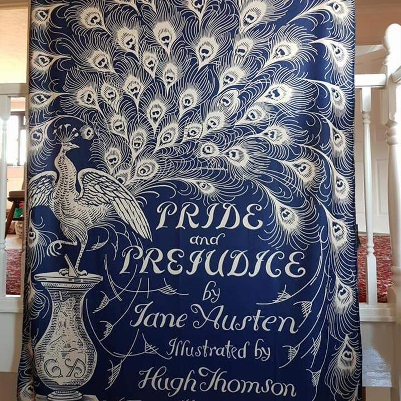 Exclusive Pride and Prejudice Jane Austen Throw - JaneAusten.co.uk