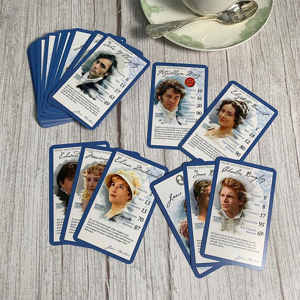 Offizielles Jane Austen Top Trumps Kartenspiel - JaneAusten.co.uk