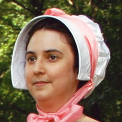 Regency Bonnet Pattern - Cordelia - JaneAusten.co.uk