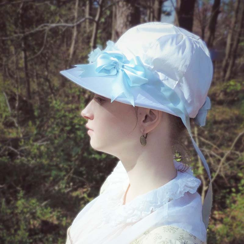 Patron de Bonnet Regency - Zenobia - JaneAusten.co.uk