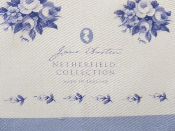 Toalla de té exclusiva de Jane Austen - Colección Netherfield - JaneAusten.co.uk