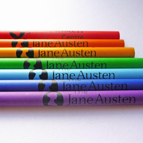 Jane Austen Center Pencil - Différentes couleurs - JaneAusten.co.uk
