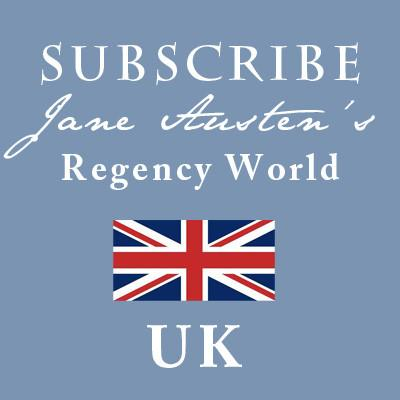 Suscripción - Regency World Magazine - Reino Unido - JaneAusten.co.uk