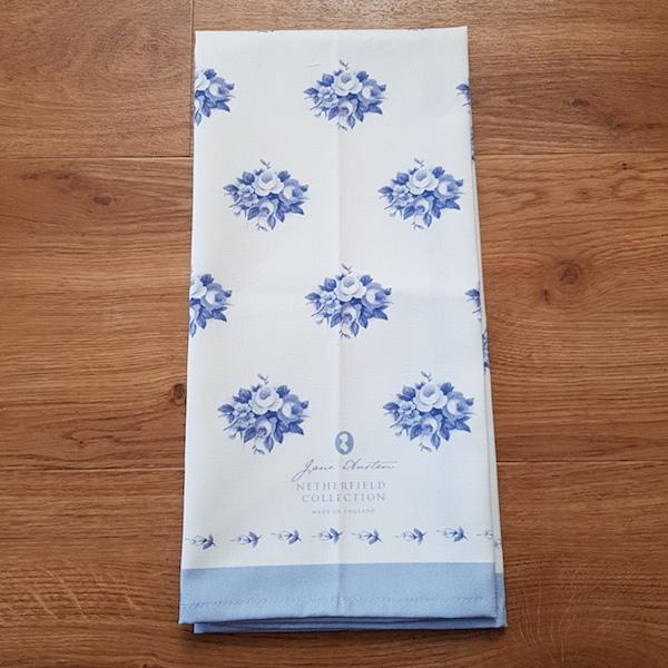 Exclusive Jane Austen Tea Towel - Netherfield Collection - JaneAusten.co.uk