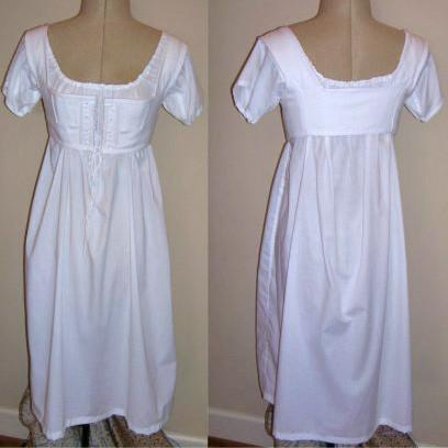 Dress Pattern - Underthings - Paper - Jane Austen Online
