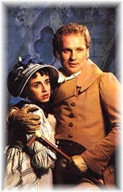 Katherine Schlesinger and Peter Firth