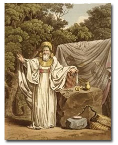 Charles Smith's maligned 1815 rendering of a Druid Priest