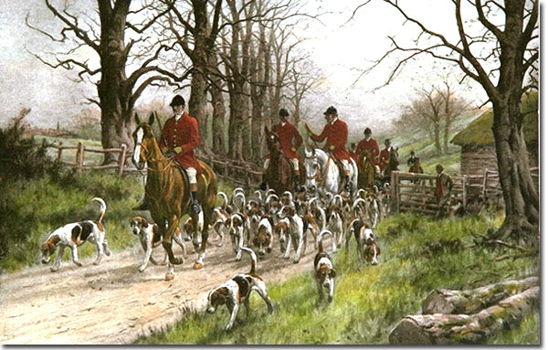 In The Pink Dressing For A Fox Hunt Jane Austen Online Gift Shop
