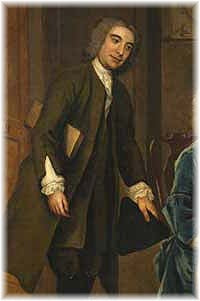 The only known image of John Wood is taken from the painting