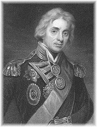Amiral Lord Horatio Nelson