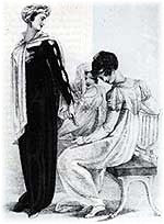 Opera Gowns, from Ackerman's Repository of the Arts, 1810