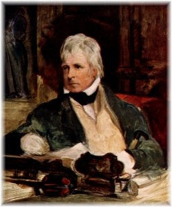 Portrait of Sir Walter Scott, by Sir Edwin Henry Landseer