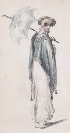 Ackermann's Repository, 1813, Morning Walking Dress