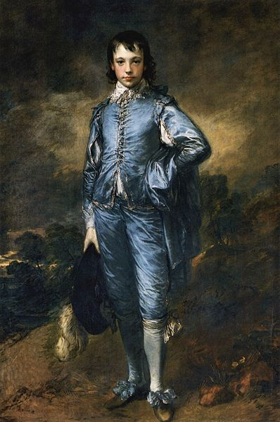 Thomas Gainsboroughs Blue Boy. 1770.