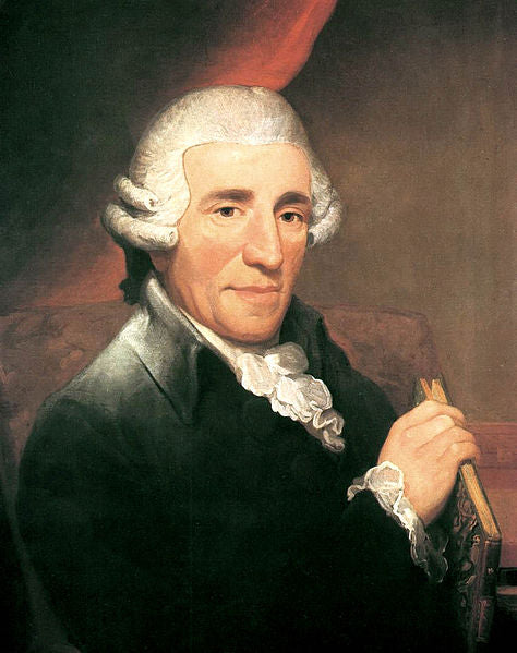 Portrait of Joseph Haydn by Thomas Hardy, 1792.