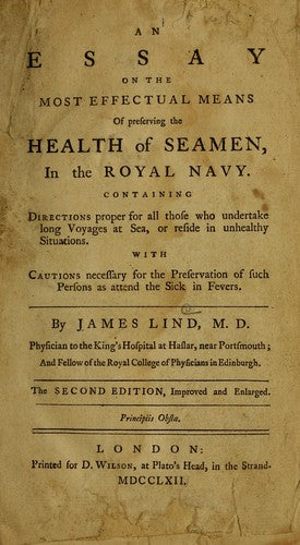 Cover page to Lind's essay.