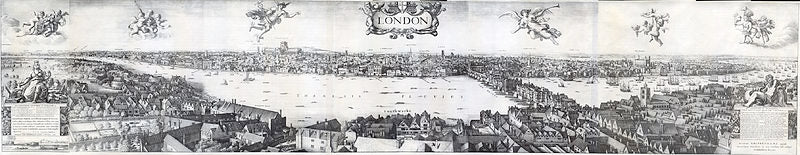 "Wenceslas Hollar's ""Long View"" of London."