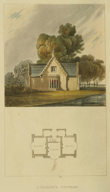 Ackermann's Repository - 1817 Bailiff's Cottage plate 24