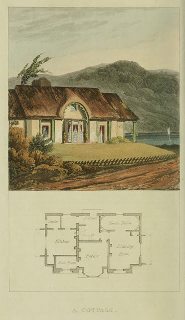 Ackermann's Repository - 1817 Cottage plate 7