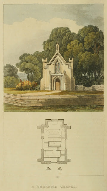 Ackermann's Repository - 1817 Domestic Chapel plate 31