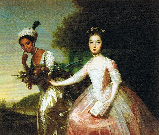 Portrait of Dido and Elizabeth