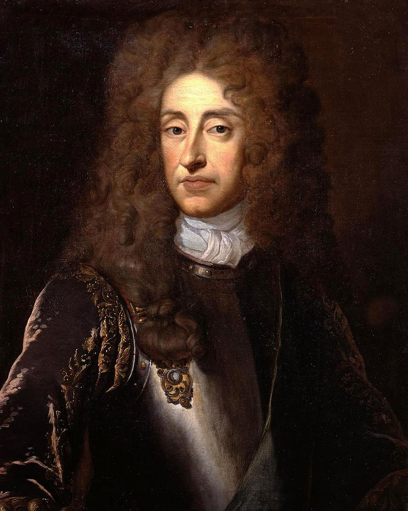 Portrait de Sir Godfrey Kneller de James II.