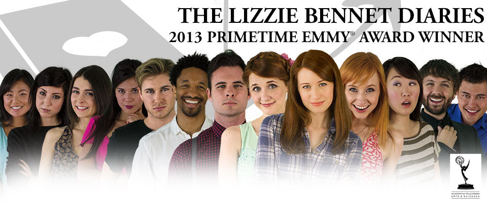 The cast of The Lizzie Bennet Diaries connected with audiences through Twitter, Blogging and Youtube.