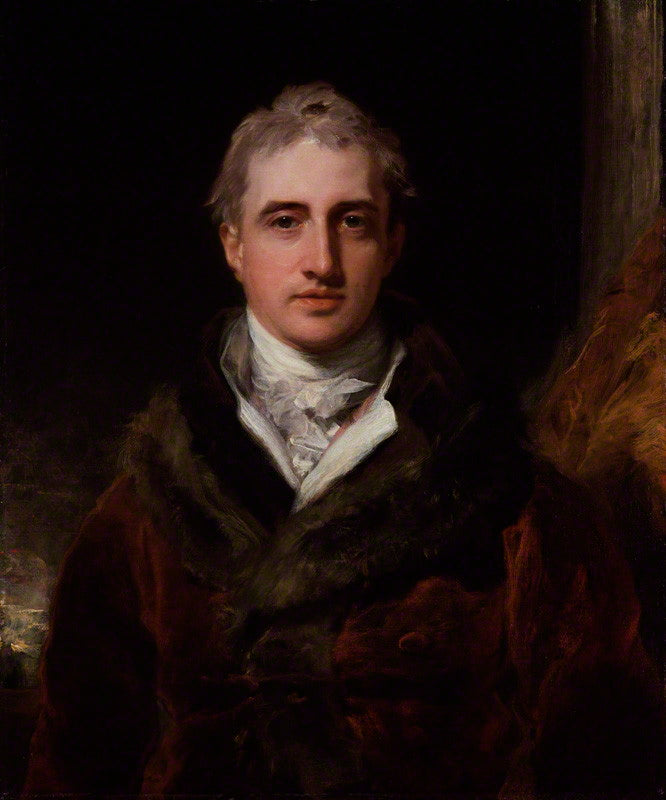 NPG 891; Robert Stewart, 2nd Marquess of Londonderry (Lord Castlereagh) by Sir Thomas Lawrence