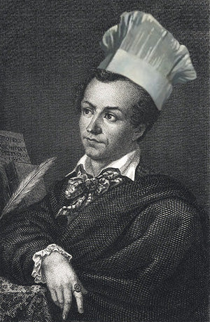 "Antnin Careme, one of the first ""celebrity"" chefs."