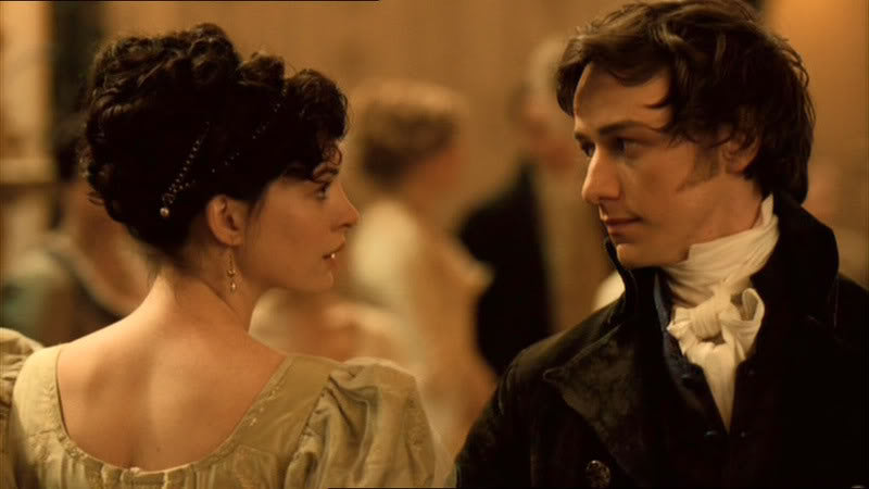 "Jane Austen baila con Tom Lefroy en ""Becoming Jane"""