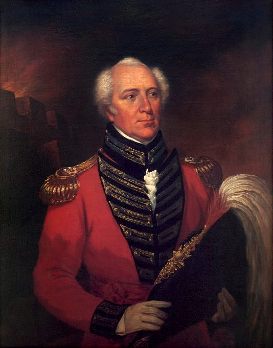 The Honourable William Farquhar (c. 1830) 6th Resident of Malacca.