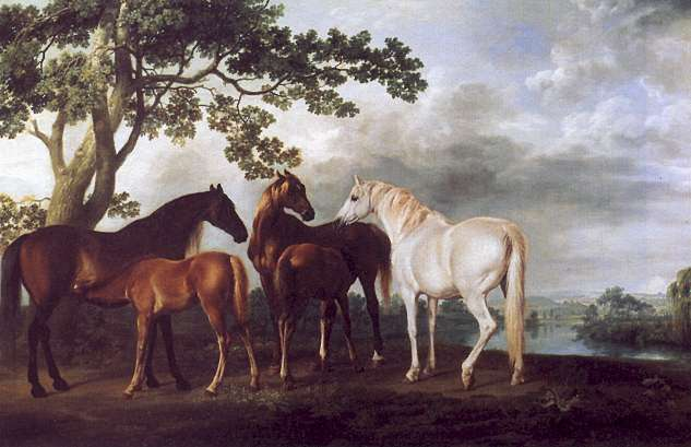 Mares and Foals in a Landscape. 1763-68.