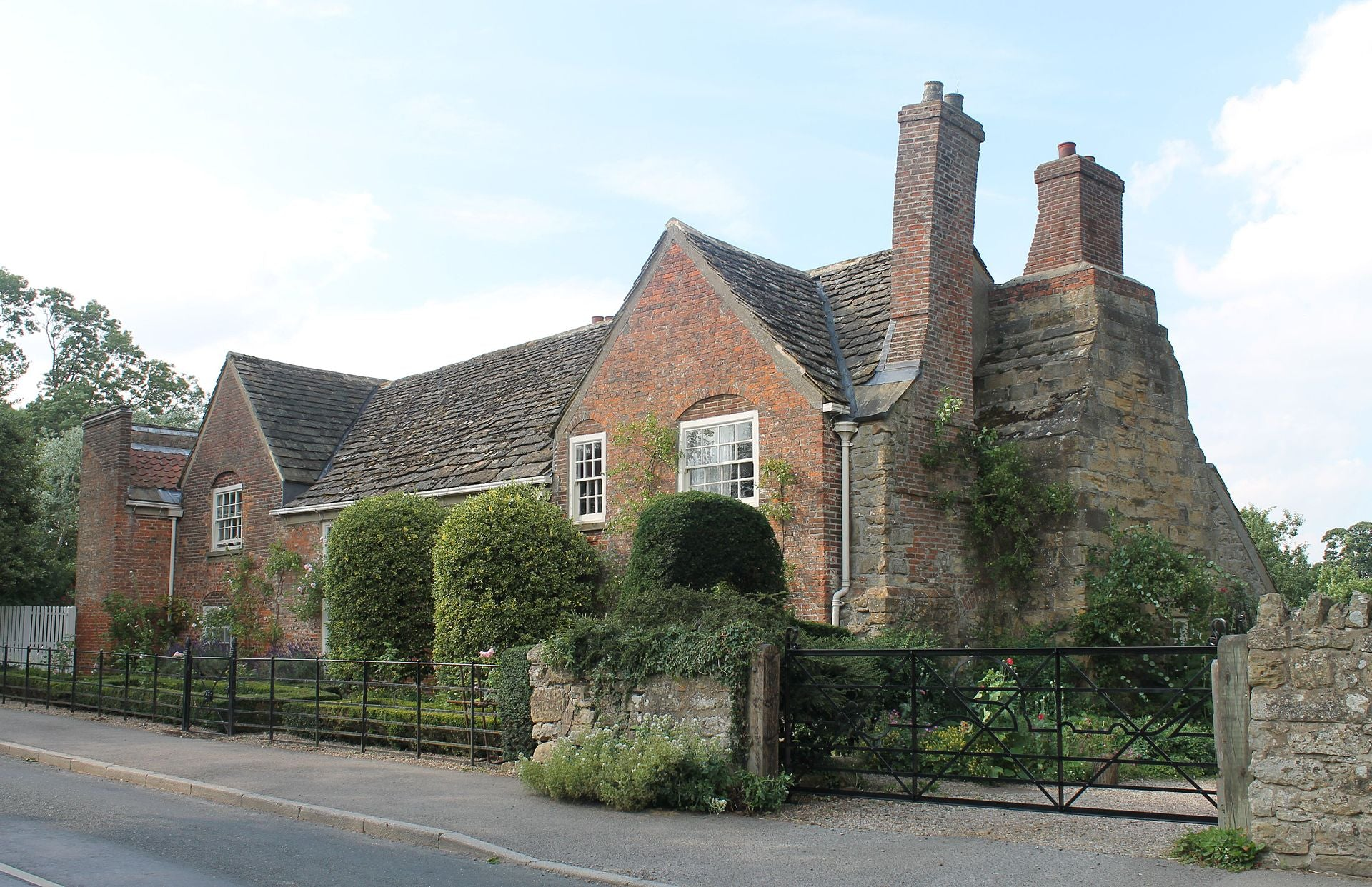 Shandy Hall, Sterne's home in Coxwold, North Yorkshire