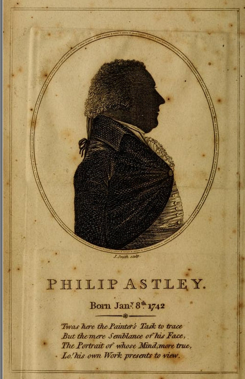 Sstley silhouette from his System of Equestrian Education, 1802