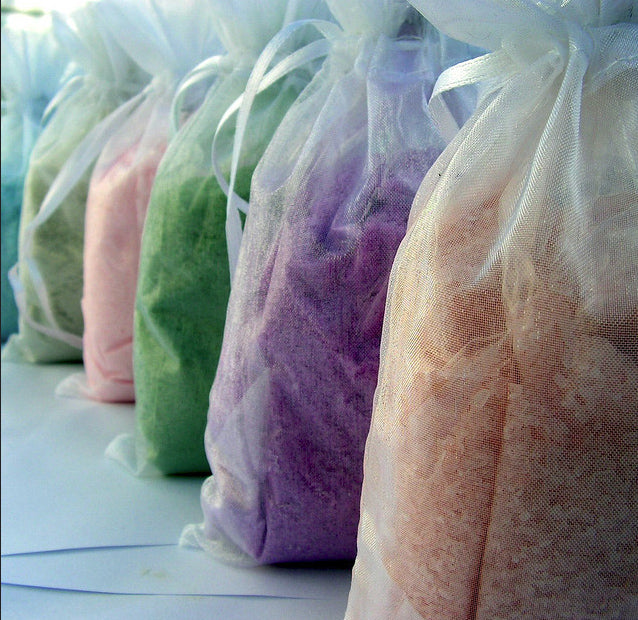 Home made bath salts can be a lovely gift. Image by Misty Kelly, with permission from Photobucket.