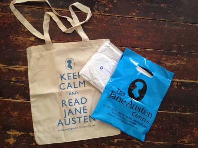 Goodies just arrived from the Jane Austen Centre giftshop...