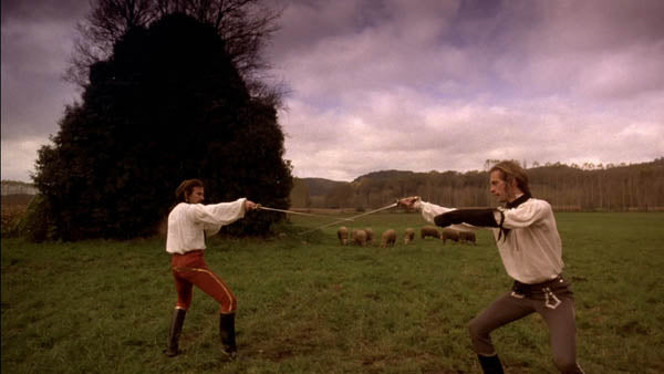 Una scena da Ridley Scott's, The Duellists.