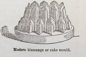 "An illustrated Victorian Cookery Book suggested this ""modern"" mould."