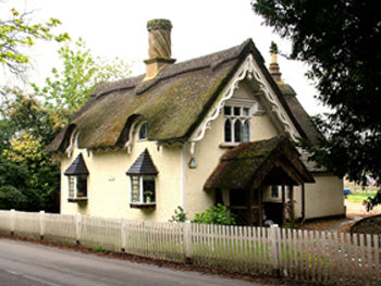 A cottage in the village of Old Warden (Photo: C Price)