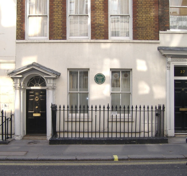 La casa de James Polidori, en Londres.