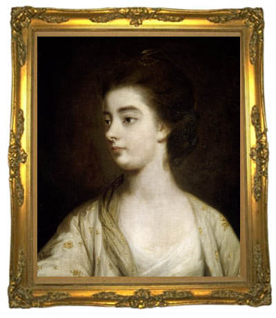 Emma Vernon by Sir Joshua Reynolds. Did Jane Austen use her name as a nod to infidelity in her novel, Lady Susan?