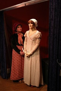 waxwork with real person (low res)