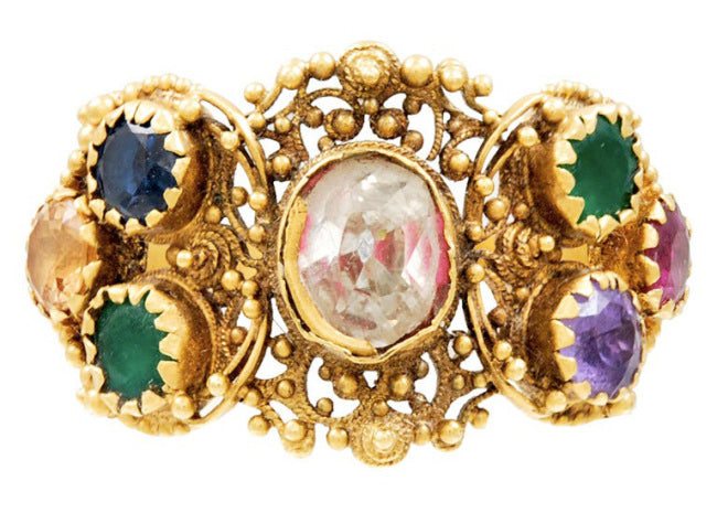 Georgian 'dearest' ring. c. 1820  courtesy of The Spare Room Antique Jewelry.
