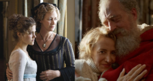 The Jane Austen News spots Mrs Claus